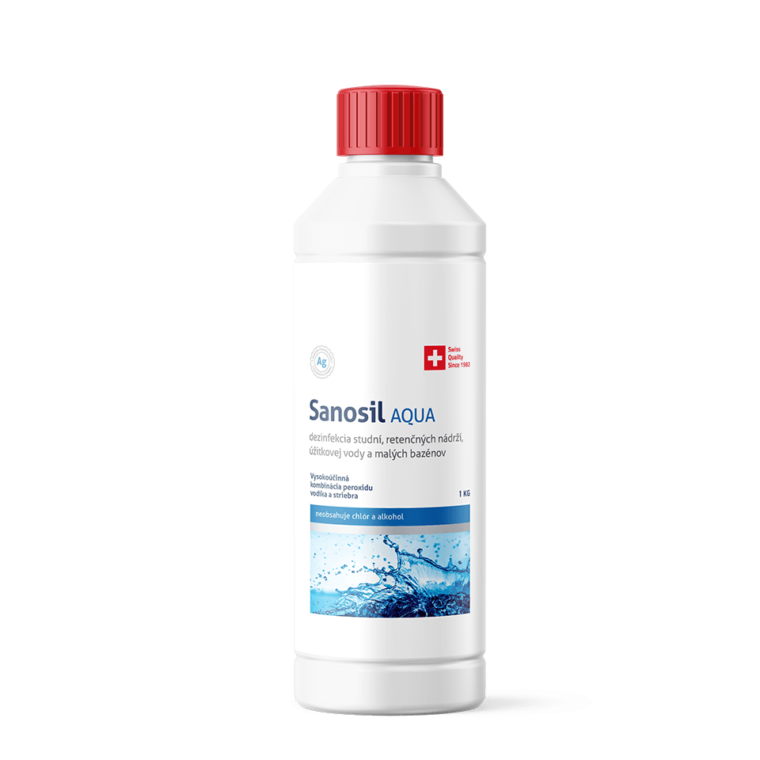 Dezinfekcia a úprava vody Sanosil Aqua