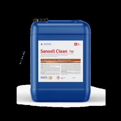 Dezinfekcia a čistenie povrchov Sanosil Clean TW